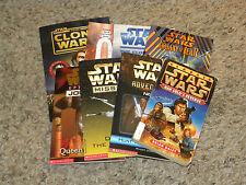 Lot of 8 Star Wars Paperback Books - EUC