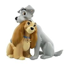 Lady & The Tramp In Love Figurine Collectable Disney Magical Moments Gift Boxed