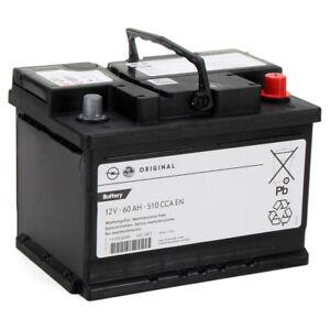 ORIGINAL GM Opel Autobatterie Starterbatterie 12V 60Ah 510 CCA EN 95523432