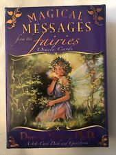 Magical Messages From the Fairies Oracle Cards Rare Doreen Virtue