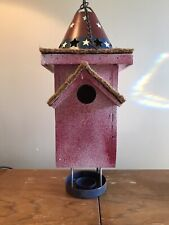 Birdhouse / Feeder Garden Yard Rustic/Patriotic Decor