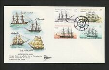 Postal History Micronesia FDC #23, C10-C12 Historic Ships 2008 Gill Craft