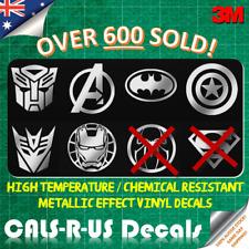 1 x JDM Metallic Car 3M Decal Sticker Batman Autobot Superman Iron Man Avengers
