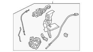 Genuine Ford Lock Actuator F1EZ-54219A65-K