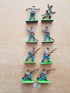 Britains Deetail - ACW Confederate Infantry (lot 3456))