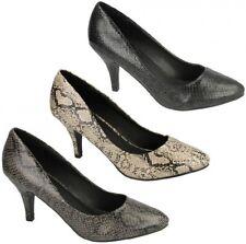 Calzado de mujer zapatos de salón de piel