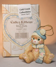 Calico Kittens: Kitten With A Blue Hat - 623814 - Holiday Ornament