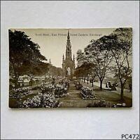 Scott Mont. East Princes Street Gardens Edinburgh Postcard (P472)