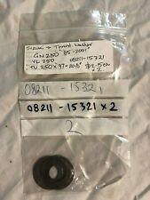 NEW PAIR ROYAL ENFIELD CHROME SWING PIVOT CAP ARM AXEL NUT CAP #580203-D