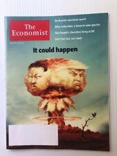 The Economist Magazine August 5th-11th 2017  Trump Kim Korea It could Happen