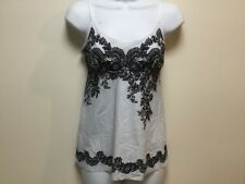 NWT Commando Photo-Op Print Cami - Antique Grey Lace - Size Small