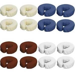 Kopfstütze Spannbezug Massageliege Kopfpolster Nackenkissen Bezug 4er Set