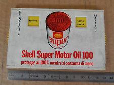 PROMOZIONALE SHELL DISCO ORARIO PER FIAT ALFA LANCIA PORSCHE VW ETC