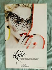 Kylie Minogue X promo poster official two hearts, Wow, In my arms. All I see