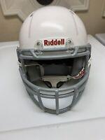 Riddell Youth Victor-I Football Helmet Small/Medium White w Chinstrap 2019 Model