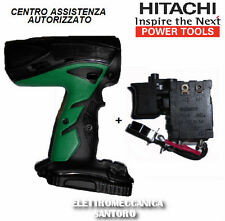 Carcass + Switch Replacement x Drill Driver Battery Hitachi Dv14dcl2