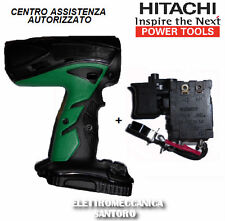 CARCASSA + INTERRUTTORE RICAMBIO X TRAPANO AVVITATORE BATTERIA HITACHI DV14DCL2