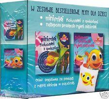 MINIMINI RYBKA Kołysanki z Gwiazdami + Najlepsze Przeboje + POSZEWKA POLISH 2CD