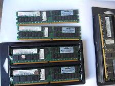 8GB (4 x 2GB) PC2-5300P DDR2 667 ECC REG PC5300 di memoria RAM del server 4GB HP DELL