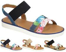 Low (0.5-1.5 in.) Floral Casual Women's Heels