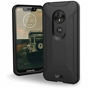 UAG for Moto G7 Play Scout Feather-Light Rugged Military Tested Black Phone Case