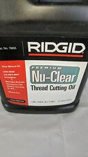 Ridgid Nu-Clear Threading Oil Cat# 70835 1 Gallon