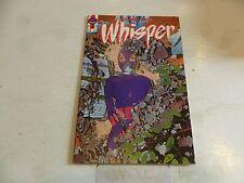 WHISPER Comic - Vol 2 - No 24 - Date 05/1989 - First Comics