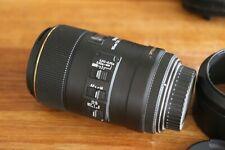 sigma 105mm f2.8 Macro Lens for Canon *please read description needs good clean*