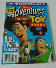 Disney Nov. 1996 Adventure Magazine Collector's Issue Toy Story