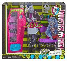 Monster High - Social Puntos Estudiante SALA - Muñeca Set de Juego Accesorio