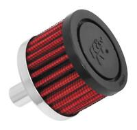 K N CRANKCASE VENT AIR FILTER REMOTE MOUNT 62-1010