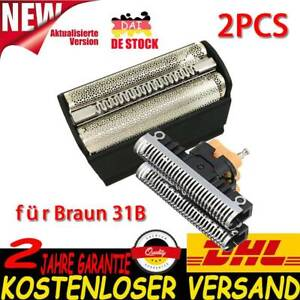 Für Braun Rasierer 5000 6000 Series 3 380 Kombipack Scherfolie Scherkopf 31S 31B