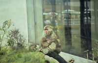 Vintage Photo Slide 1986 Monkey Burnet Park New York