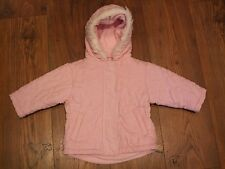 baby girls pink coat jacket 9 - 12 months hooded by baby bruin girl Winter