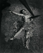1936 Vintage PIT & PENDULUM Edgar Allan Poe Horror Photo Art ~ WILLIAM MORTENSEN