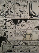 Mark Texeira - Jonah Hex - Original 1983 Vintage Comic Art Comic Art