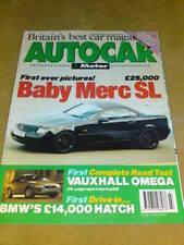 AUTOCAR -BABY MERC SL Feb 16 1994 Vol 199 #7