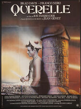 """QUERELLE 1982 wild 47""""x63"""" poster Rainer Werner Fassbinder Jean Genet gay"""
