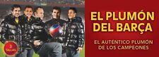 Plumón oficial del Barça - Tallas XL y L Color Negro