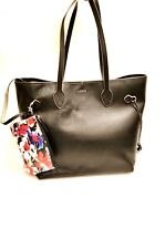 Lodis Bliss Leather Black Tote & Wristlet Sets New in Original Package