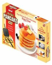 Pan Pancake Perfect Maker Omelette Eggs Flip Jack Crepes Metal As Seen On TV