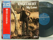 DISCRETE CD 4 CHANNEL / ENGELBERT HUMPERDINCK MY LOVE / WITH OBI