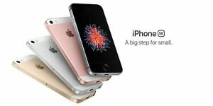 """New in Sealed Box Apple iPhone SE - 4.0"""" GLOBAL Smartphone/Space Gray/128GB"""