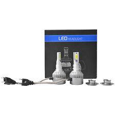 2x 200W Ampoules à faisceau faible Kit de phare pour voiture COB LED H7 Philips