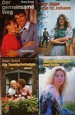 Buchset: 4 Bücher von Hans Ernst - Der Jäger von St. Johann, Zwischen Sturm und