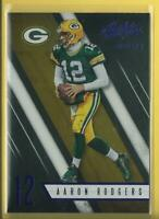 Aaron Rodgers 2016 Panini Absolute SPECTRUM BLUE SP Insert #67 Green Bay Packers