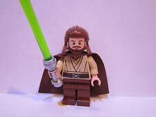 Lego Star Wars QUI GON JINN minifigure lot 7961 100% REAL LEGO BRAND