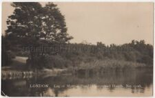 Leg of Mutton Pond Hampstead Heath, London, Degen 1128 RP Postcard B776