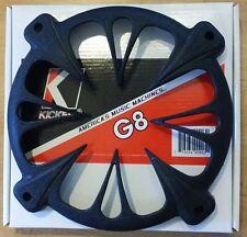 """NEW KICKER G8 8"""" BLACK ROUND SUBWOOFER SPEAKER GRILL"""
