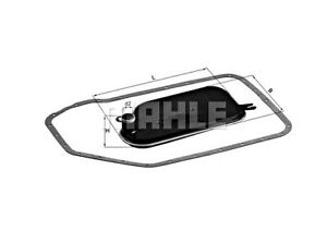 MAHLE Automatic Trans Hydraulic Filter For AUDI VW PORSCHE SKODA A4 01V325429